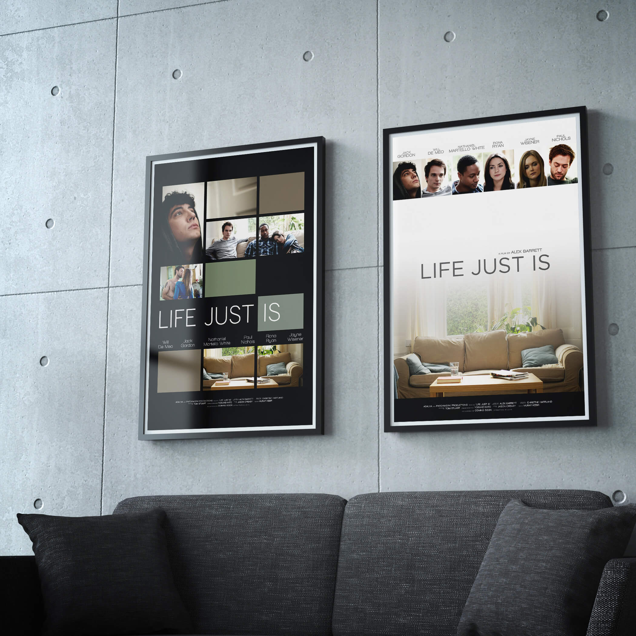 Life Just Is Promo Posters