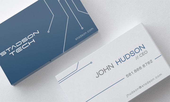 Stadson Business Cards